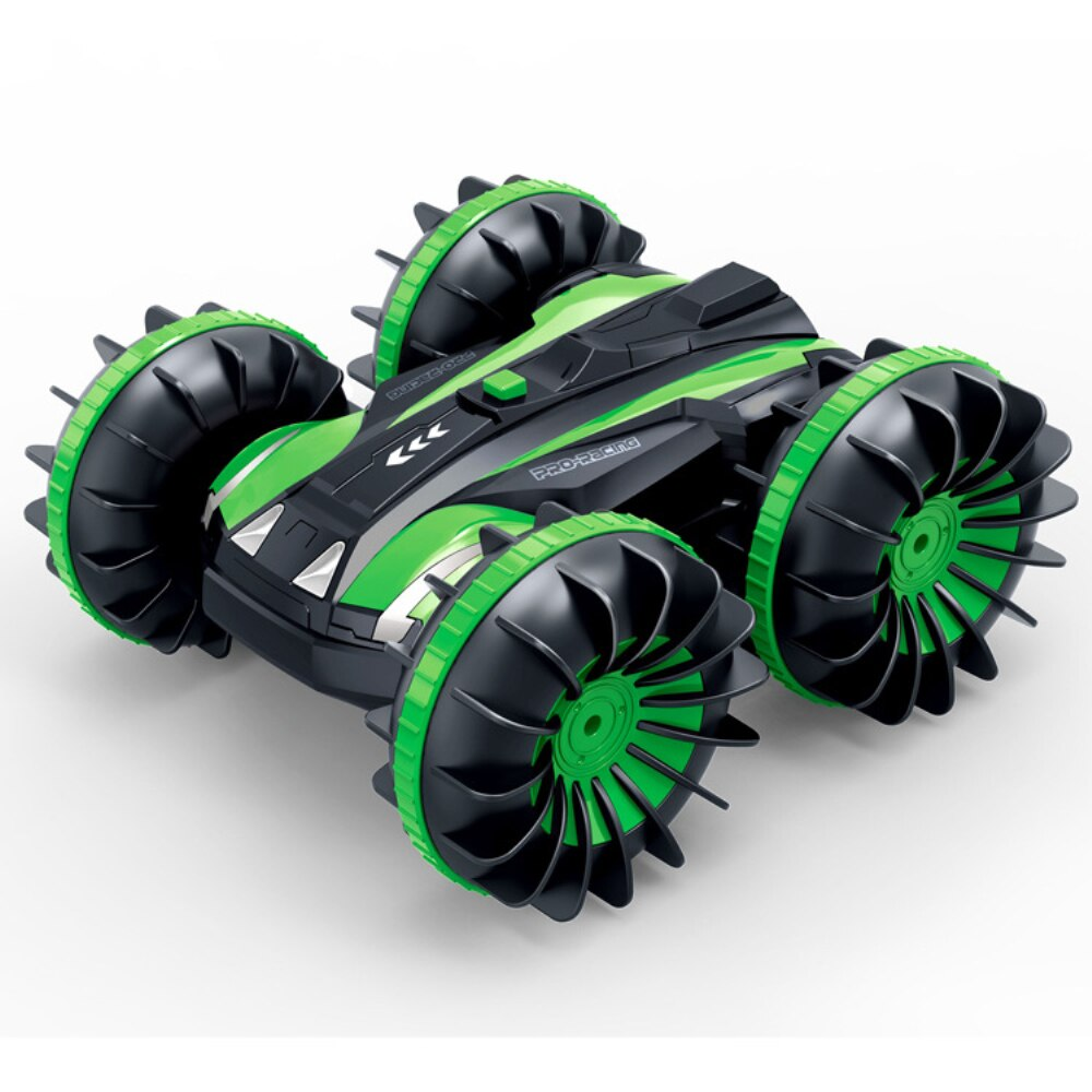 360 Rotate Rc Cars Remote Control Stunt Car 2 Sides Waterproof Driving On Water And Land Amphibious Electric Toys For Children enlarge