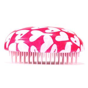 Heart Pattern Anti-static Hair Comb Brush Professional Care Combs Hairbrush Salon