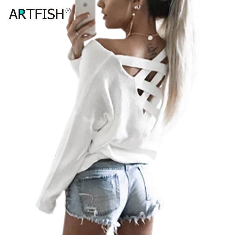 Женские футболки с открытой спиной 2020 длинным рукавом однотонные сексуальные
