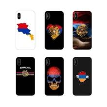 Для Apple iPhone X XR XS 11Pro MAX 4S 5C SE 6S 7 8 Plus ipod touch 5 6 Аксессуары чехлы для телефонов флаг армян