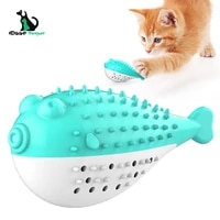 cat toothbrush catnip toys cleaning kitten toy ct 007