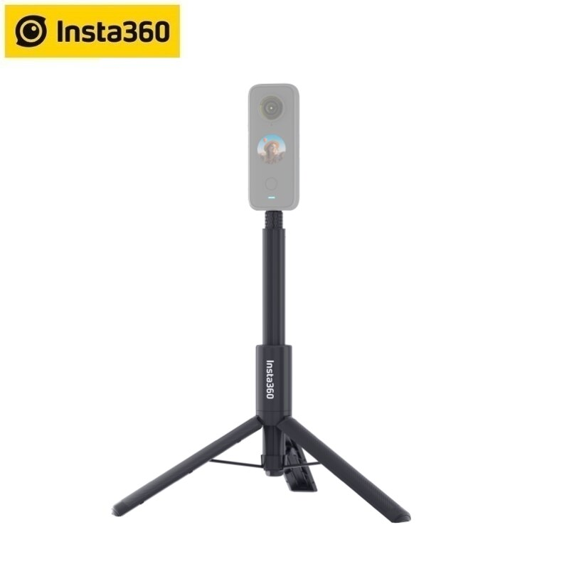 Insta360 2 في 1 عصا سيلفي غير مرئية + ترايبود واحد X2/واحد R/واحد X