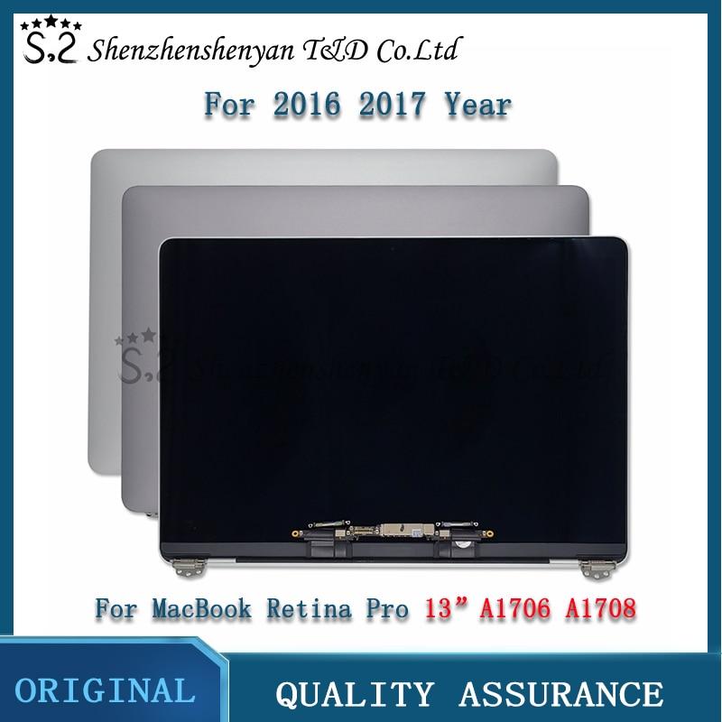 شاشة LCD جديدة A1706 A1708 شاشة عرض كاملة لماك بوك برو الشبكية 13