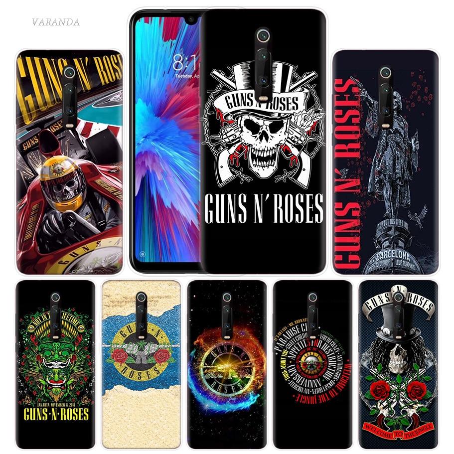 Музыкальный Чехол Guns N Roses для Xiaomi Redmi Note 8T 8 7 9S K20 K30 Pro 7A Mi CC9 10 9T 9 A3 Lite F2 X2 TPU чехол для телефона Tampa