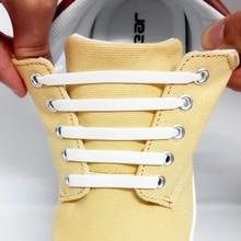 12Pcs/Set Silicone Elastic Arrow Type Shoelaces No Tie Shoelace for Men Women Lacing Rubber Flat sho