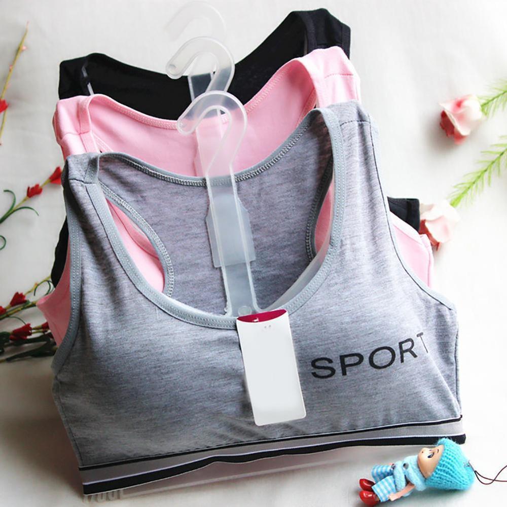 Sujetador sujetador Sujetador deportivo Lencería de estudiante Maiden ropa interior para niñas adolescentes ropa interior para niñas Bralette
