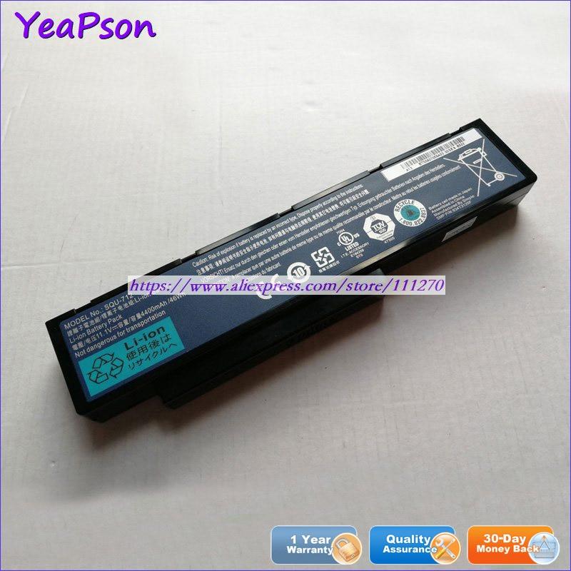 Yeapson 11,1 V 4400mAh genuino SQU-712 9134T3120F batería del ordenador portátil para Benq JoyBook R43C A53 R43E Q41 DHR503 R43 ordenador portátil