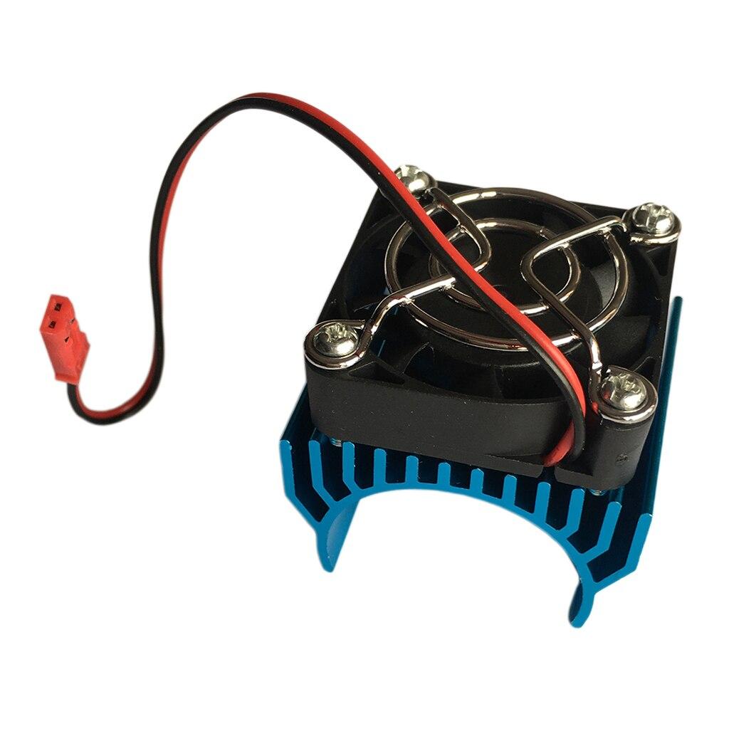 18 RC modelo coche ventilador de refrigeración disipador de calor ajuste 1512/1515 /1518/4274 40-42mm Motor azul