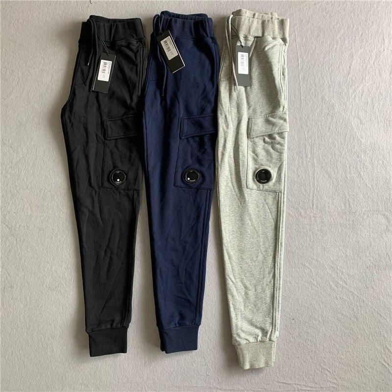 2021 Trendy Korean Slim Fit Trousers Men Casual Sweatpants CP 1:1 high copy