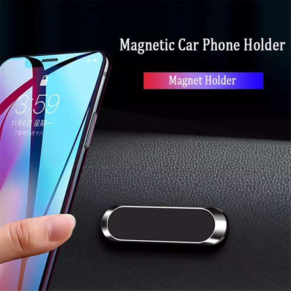 Nohon magnético suporte do telefone para iphone samsung xiaomi mini placa de metal forte ímã adsorção suporte de telefone celular na montagem do carro