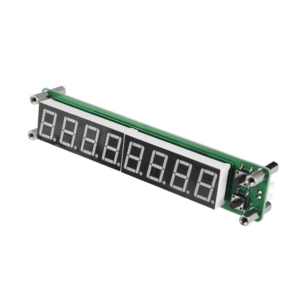 Contador de frecuencia de señal RF de PLJ-8LED-H, módulo de prueba de cimómetro, módulo de visualización de frecuencia LED azul de 0,1 ~ 1000MHz