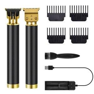 2021 USB Electric Hair Clipper Hair Trimmer For Men Electric Shaver Beard Barber Hair Cutting Machine T9  Men's Hair Cut- NOBOX