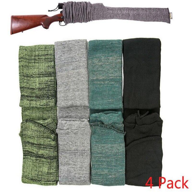 125 cm arma calcetín Rifle calcetín tiro caña de pescar calcetín manga Protector funda bolsa a prueba de polvo militar caza Accesorios