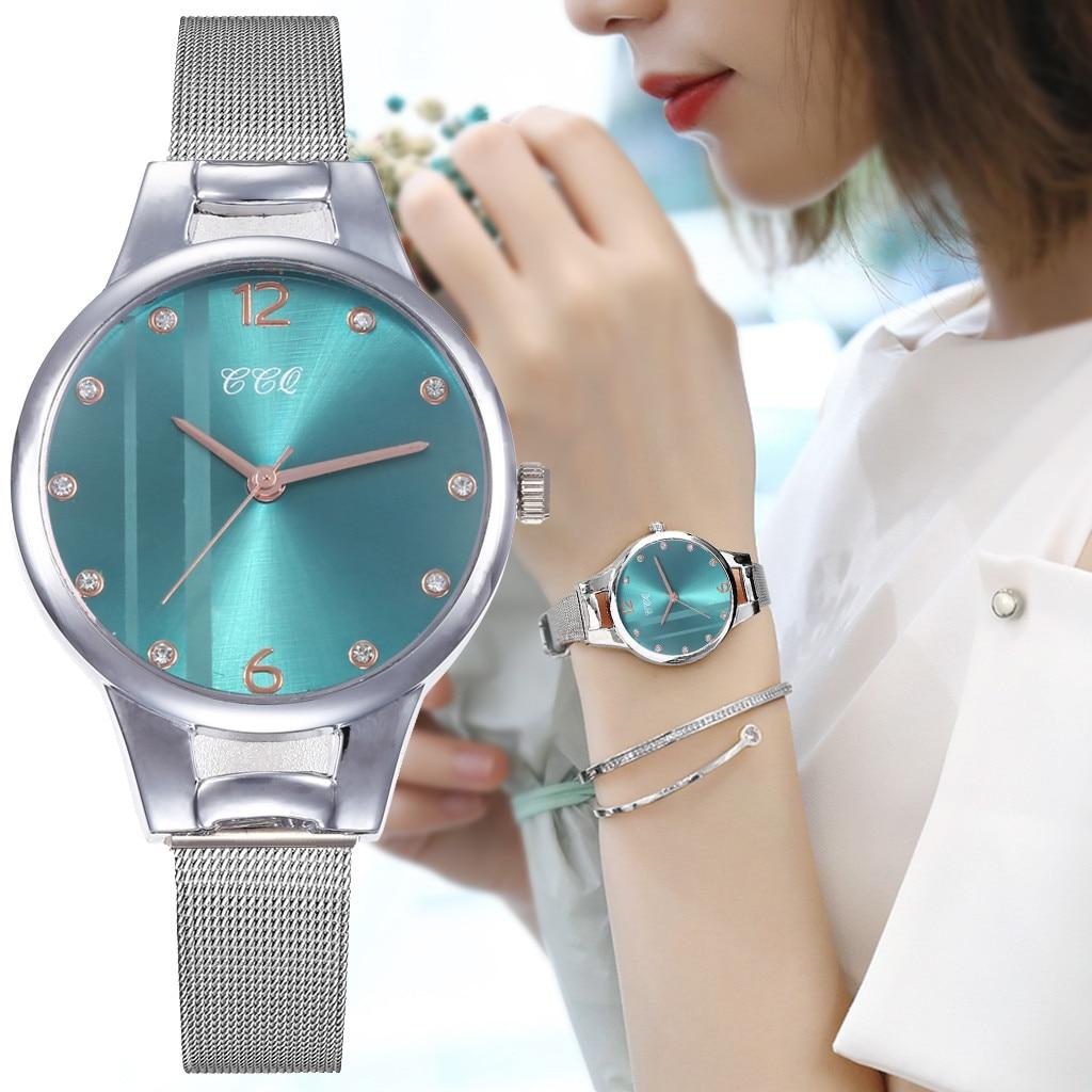 Relógio feminino romântico quartzo banda de aço inoxidável pulseira de mármore relógio analógico relógio de pulso casual senhoras relógio relogio feminino 2020