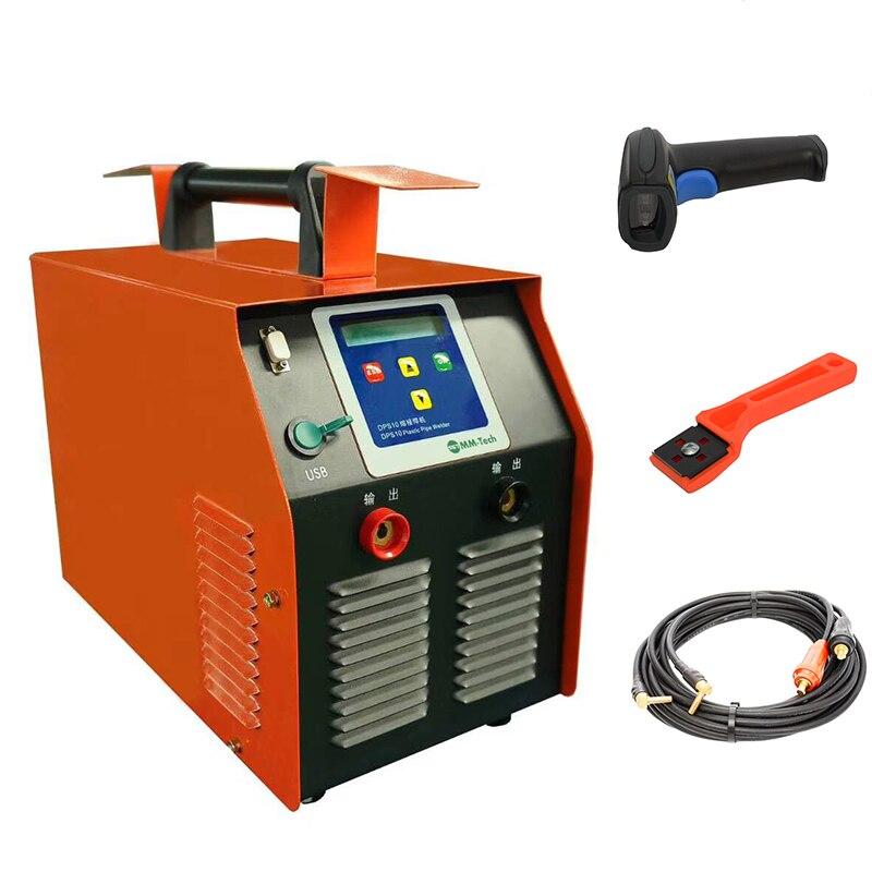 ماكينة لحام بلاستيك 20-630 مللي متر, hdpe ماكينة لحام بالصهر الكهربائي