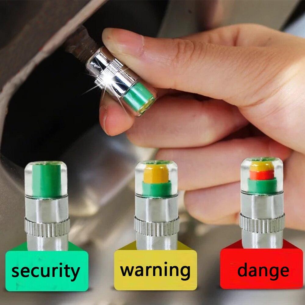 4 шт. автомобильный воздушный клапан давления стволовых колпачков сенсор индикатор для Lada Priora Sedan sport Kalina Granta Vesta X-Ray XRay