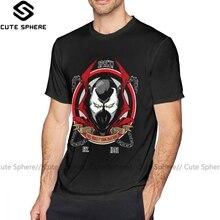Spawn T Shirt Your Worst Nightmare Spawn camiseta gráfica verano Camiseta Hombre diversión 100 algodón manga corta 5x camiseta
