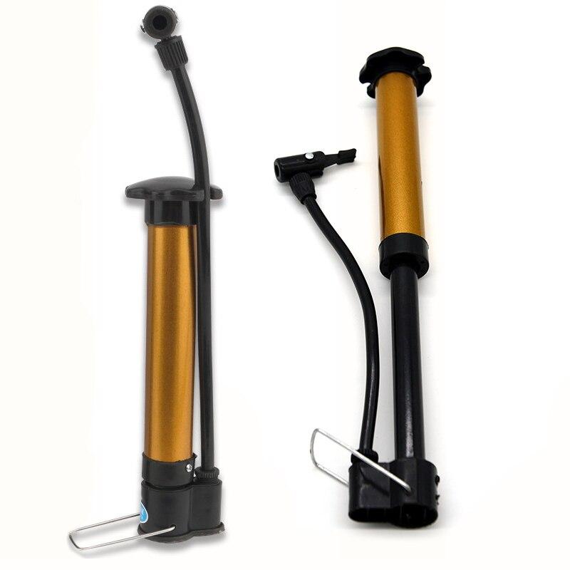 Bicycle Pump Inflator Football Basketball Pump Cycling Mini High Pressure Bicycle Pumps Air Ball Pump Bike Accessories