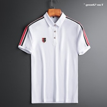 Designer Bee 2021 Crown Embroidery Polo Shirts Men Fashion Style Straight Short Sleeve High Quality