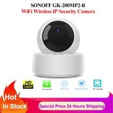 SONOFF caméra 1080P HD Mini maison intelligente Wifi sans fil caméra IP IR Vision nocturne bébé moniteur Surveillance caméra de sécurité Ewelink