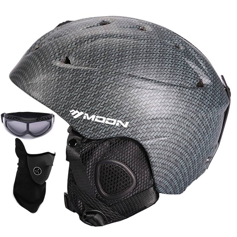 Casco de monopatín de la nieve del esquí de la nieve del monopatín integralmente-moldeado casco de esquí transpirable ultraligero CE certificación S/M/L/XL