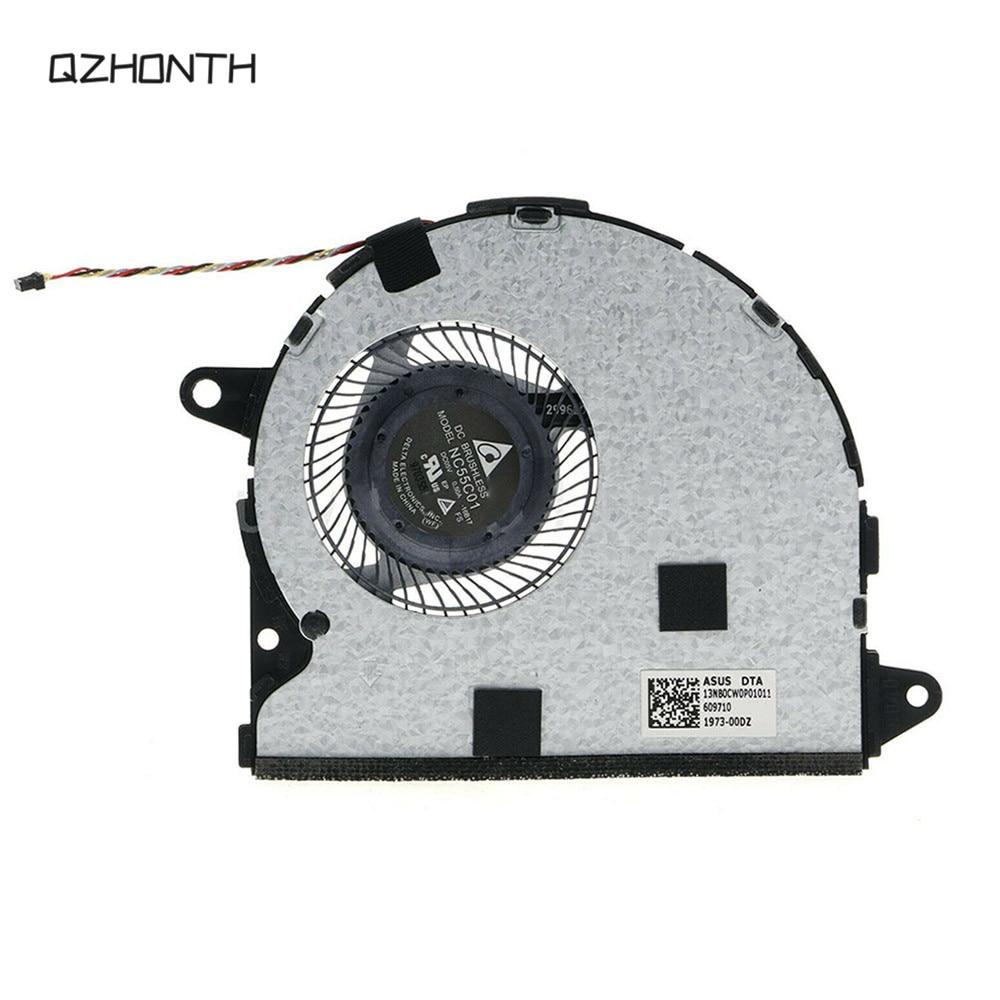 كمبيوتر محمول جديد وحدة المعالجة المركزية مروحة تبريد ل Asus Zenbook UX330 NC55C01-16B17