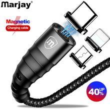 Câble magnétique Marjay Micro USB Type C rapide QC 3.0 chargeur daimant Microusb type-c USB C pour câble iphone huawei xiaomi