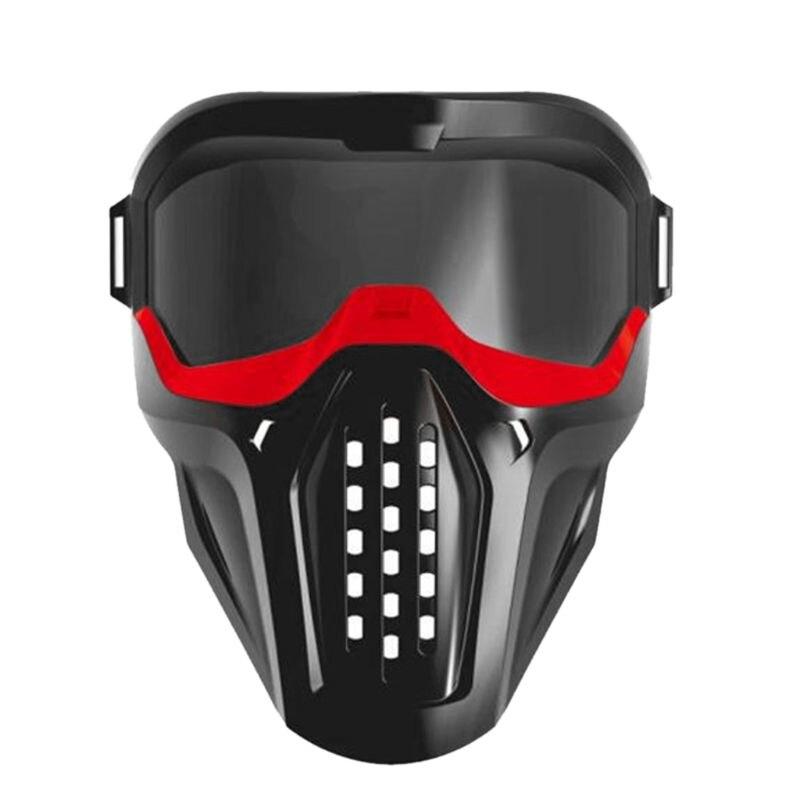 Airsoft Paintball Full Face Maske Jagd Kopfbedeckungen Schutzmasken für CS Wargame Military Getriebe