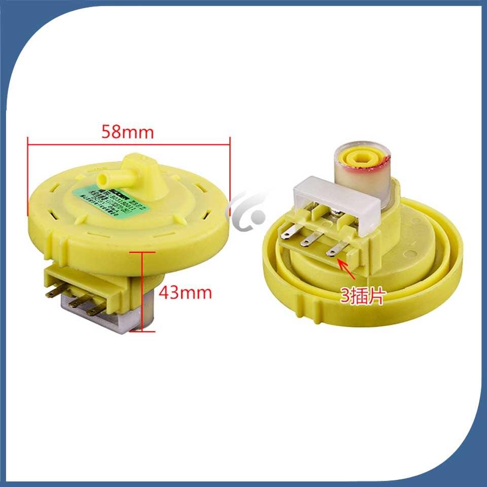 Interruptor electrónico compatible para lavadora, sensor de presión de nivel de agua para controlador de Reparación de máquinas de lavado XPB70261