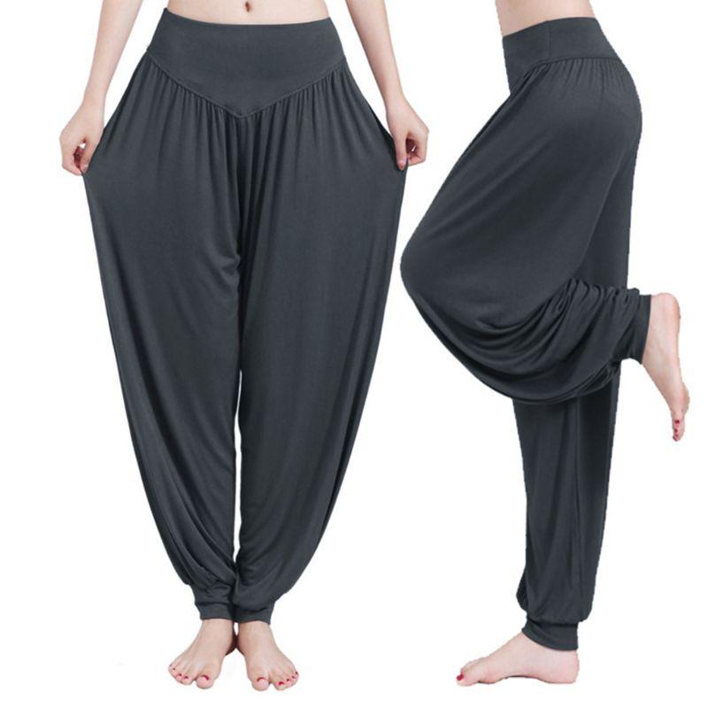 Indio Ali Baba Harem Mujer Pantalones Aladino Gypsy Baggy Genie Hippie Pantalones