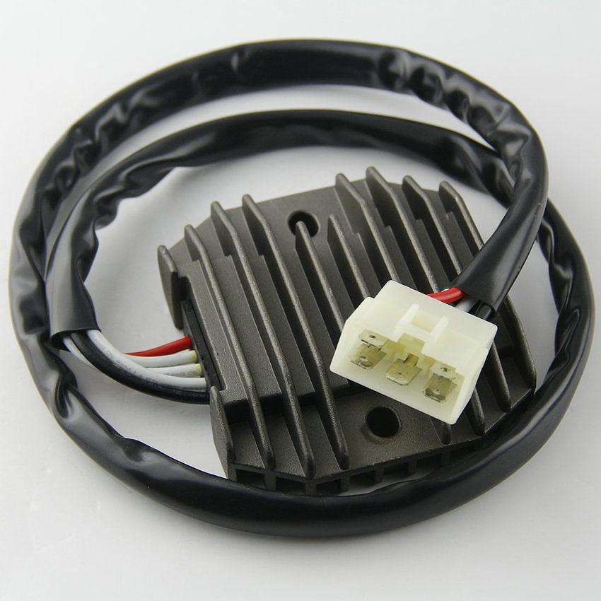 Motocicleta regulador de tensión regulador rectificador para Yamaha 5KP-81960-00 FZ1 FZS1000 FZS600 XVS400 XVS400C XVS650 XVS650 XVS650 XVS650A