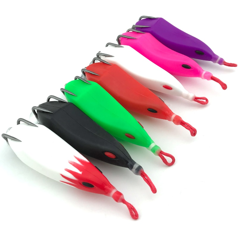 TEASER 5pcs Frog Lure Set Topwater Wobblers Bait Kit Pike Artificial Soft Fishing Baits Snake Head Gear Lures Fishing Tackle