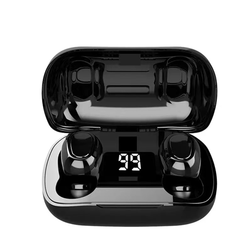 L21 Pro TWS Headphone Wireless Stereo Headset LED Digital Display Sport Earbuds For Oppo Huawei Iphone Xiaomi Bluetooth Earphone