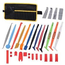Виниловая палочка EHDIS, набор скребков с магнитным мешком для хранения, Тонировка окон, пленка из углеродного волокна, скребок из мягкого пластика, инструмент для автомобиля