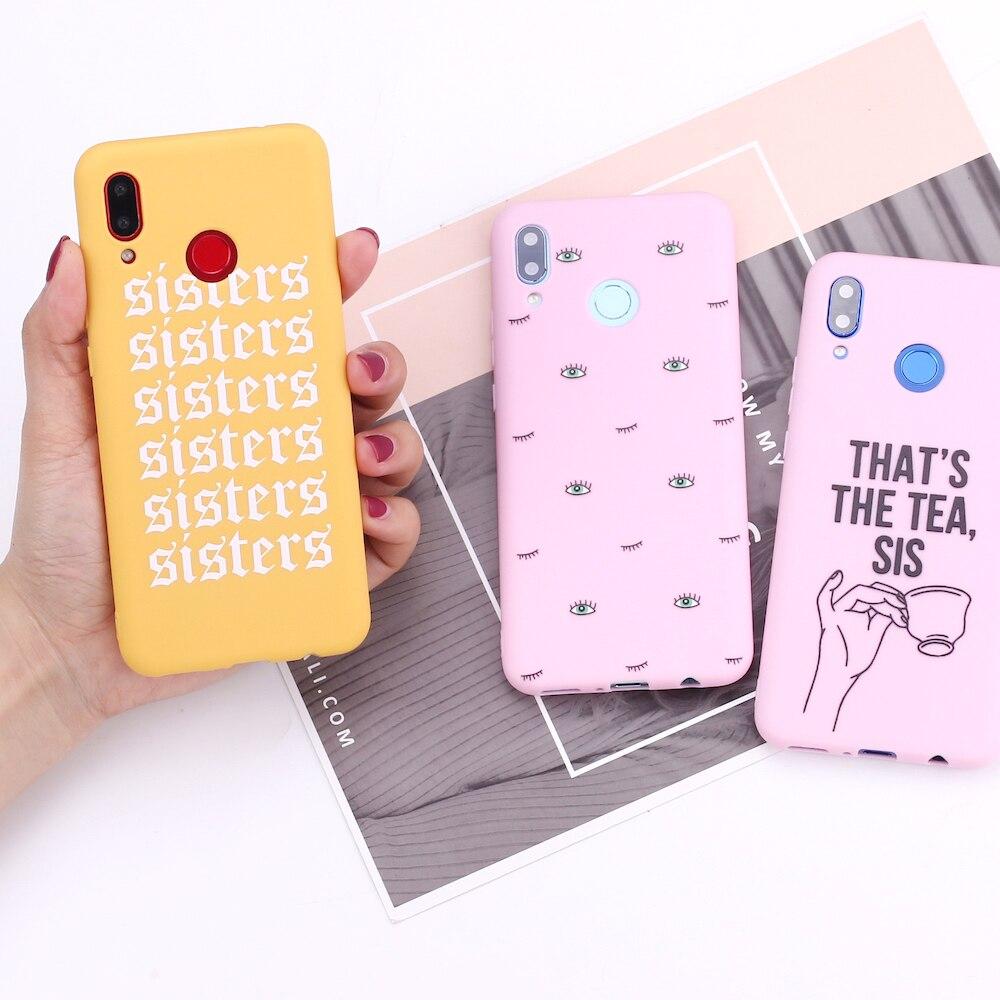 Funda para Xiaomi Mi Redmi Note 5 6 7 8 9 10 lite Pro Plus, funda de silicona rosa para niñas, Fundas, Fundas
