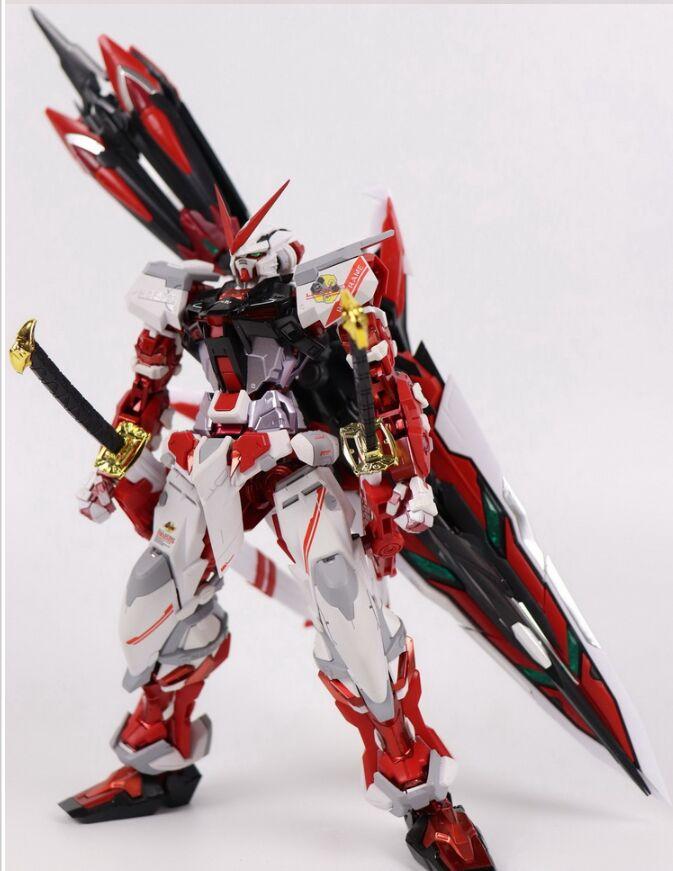 Меч Gundam в красной раме MB 1:100 сборная Игрушка Робот строительные игрушки daban модель фигурки