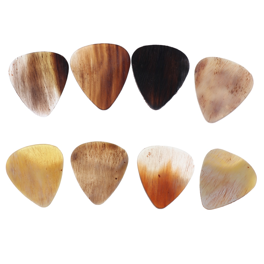 8 piecestimber artesanal handcraft chifre captador guitarra chifre captador plectrum