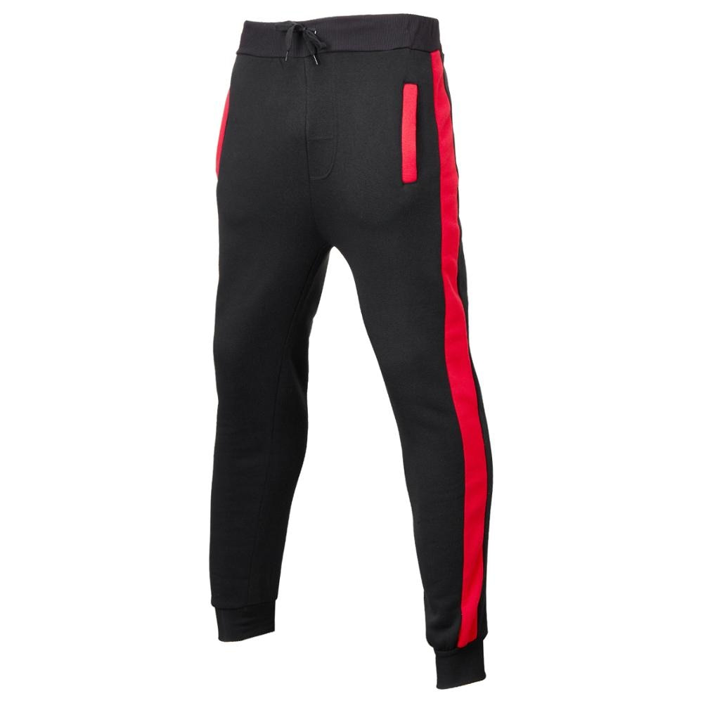Спортивные штаны для спортзала, черные спортивные штаны, джоггеры, облегающие брюки, мужские повседневные брюки, мужские спортивные Хлопко...