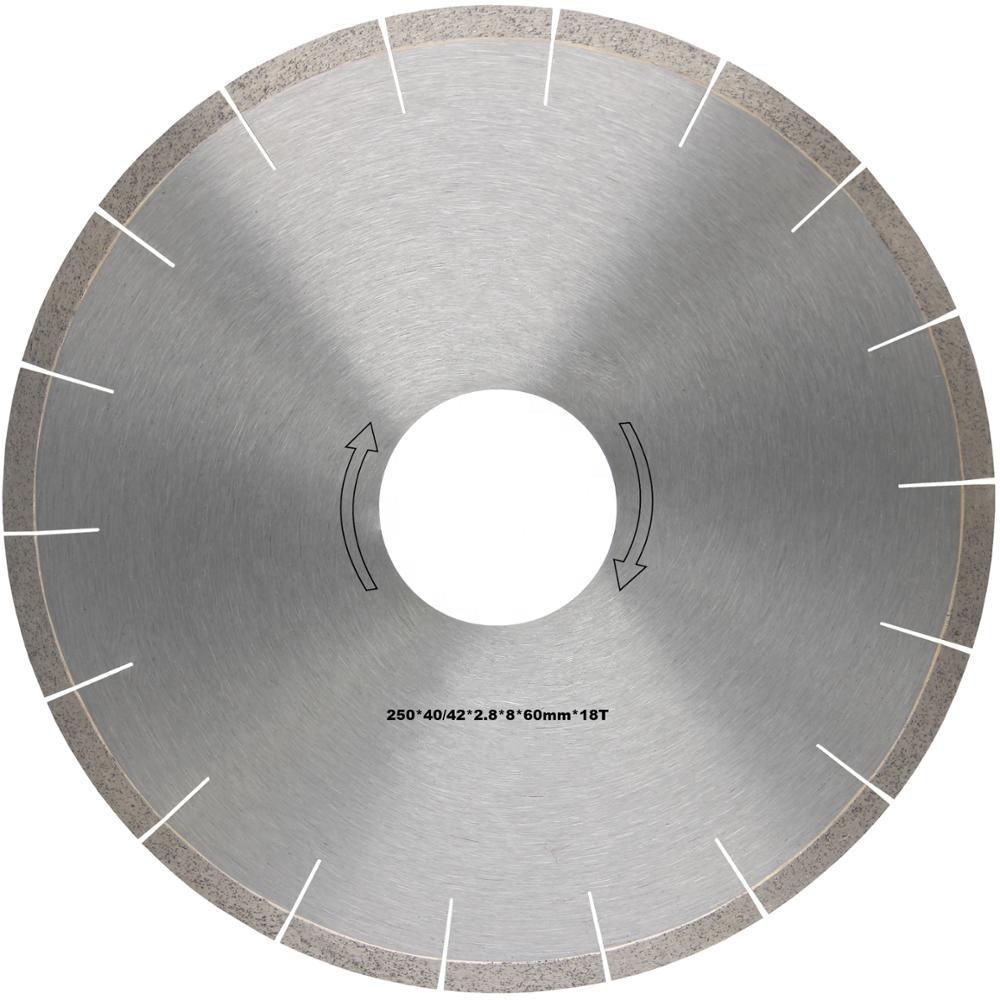 Ferramentas de Corte Disco de Corte Diamante para Quartzite Pedra Diamante Quartzo 10 Polegada Lâminas Serra Não Silenciosas 2 Pçs Db76 D250mm