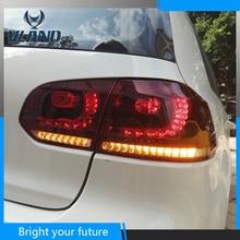 Feux arrière Vland pour Volkswagen Golf MK6 VI GTD/GT1 2009 2010 2011 2012 2013 LED feux arrière rouges F