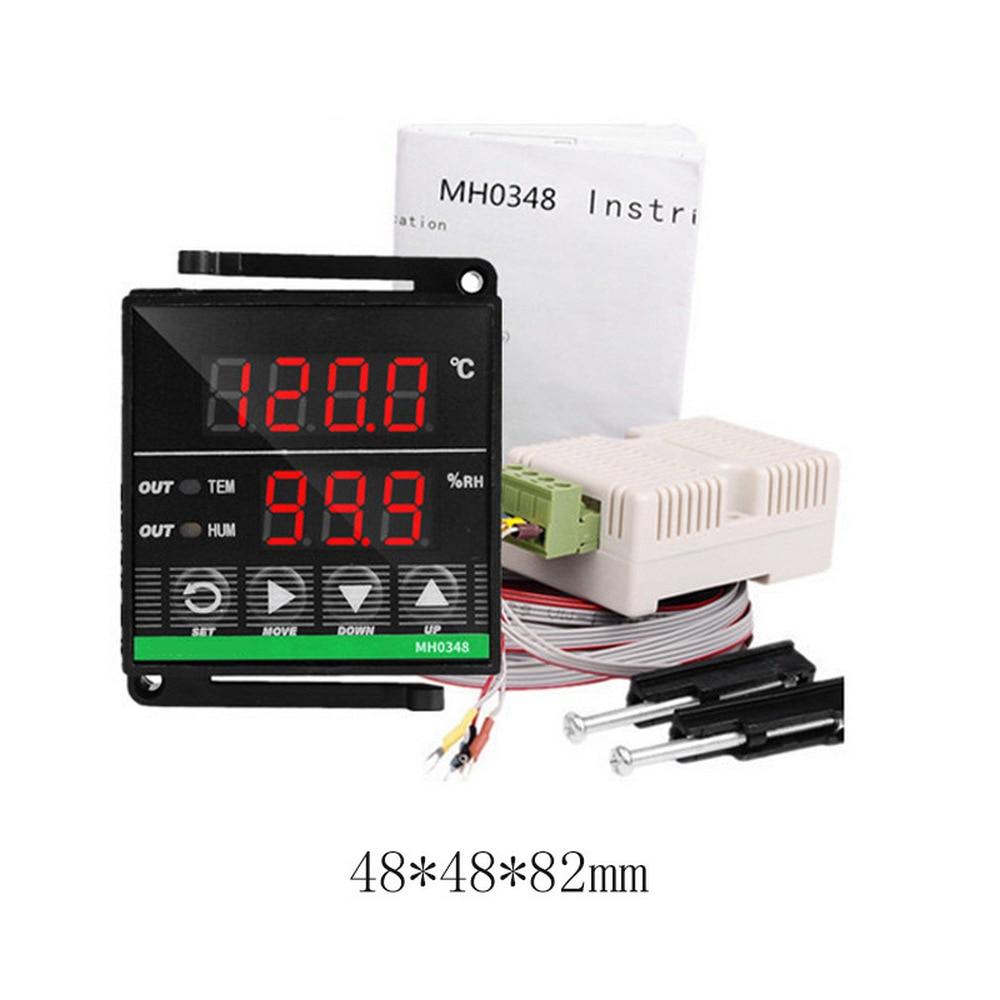 Controlador de Temperatura e Umidade Usado para Umidificação e Desumidificação de Incubadoras Digital Inteligente Mh0348 é