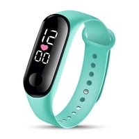 womens waterproof watches men unisex digital led electronic wrist watch silicone watchband sports clock relogio feminino