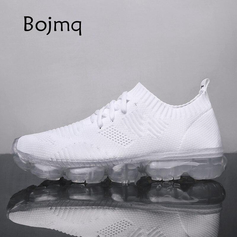 Bojmq Tenis Masculino 2020 nuevas zapatillas de Tenis para hombre, zapatillas deportivas de marca, zapatillas de deporte al aire libre transpirables de malla ligera para correr, calzado de entrenamiento de Fitness