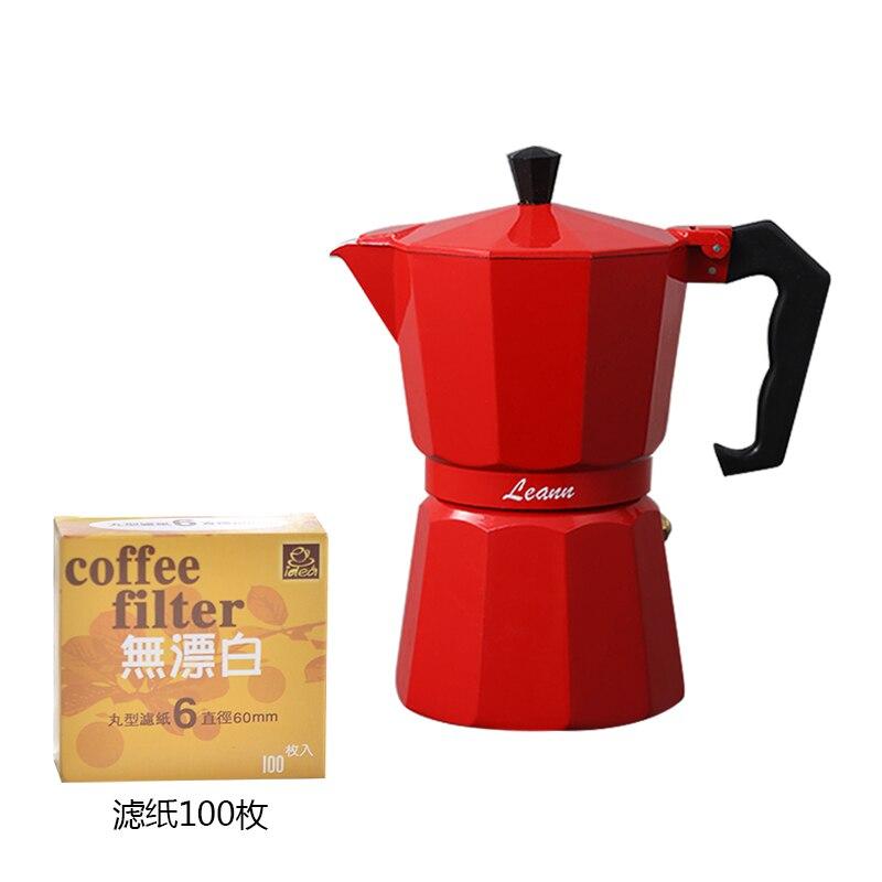 Cafeteira portátil com filtro, máquina de café expresso para acampamento ea6kfh