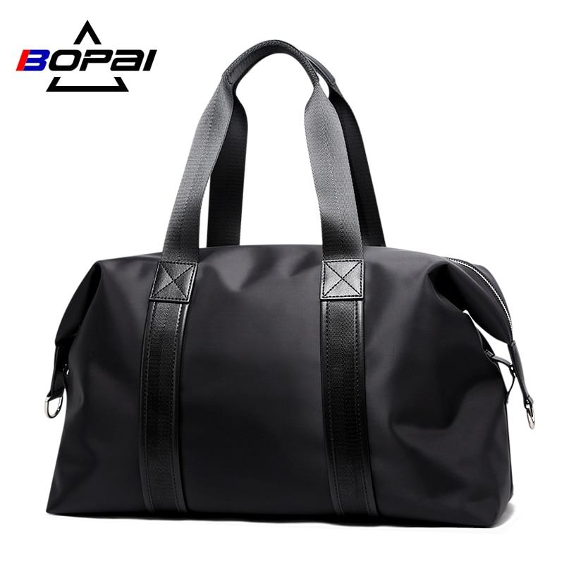 Брендовые мужские дорожные сумки BOPAI для переноски багажа, вместительные дорожные сумки для мужчин, спортивные мешки для выходных, дорожные...