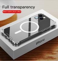 Прозрачный чехол для IPhone 12 Pro Max, противоударный чехол, защитный чехол для IPhone12 Mini 12 Pro