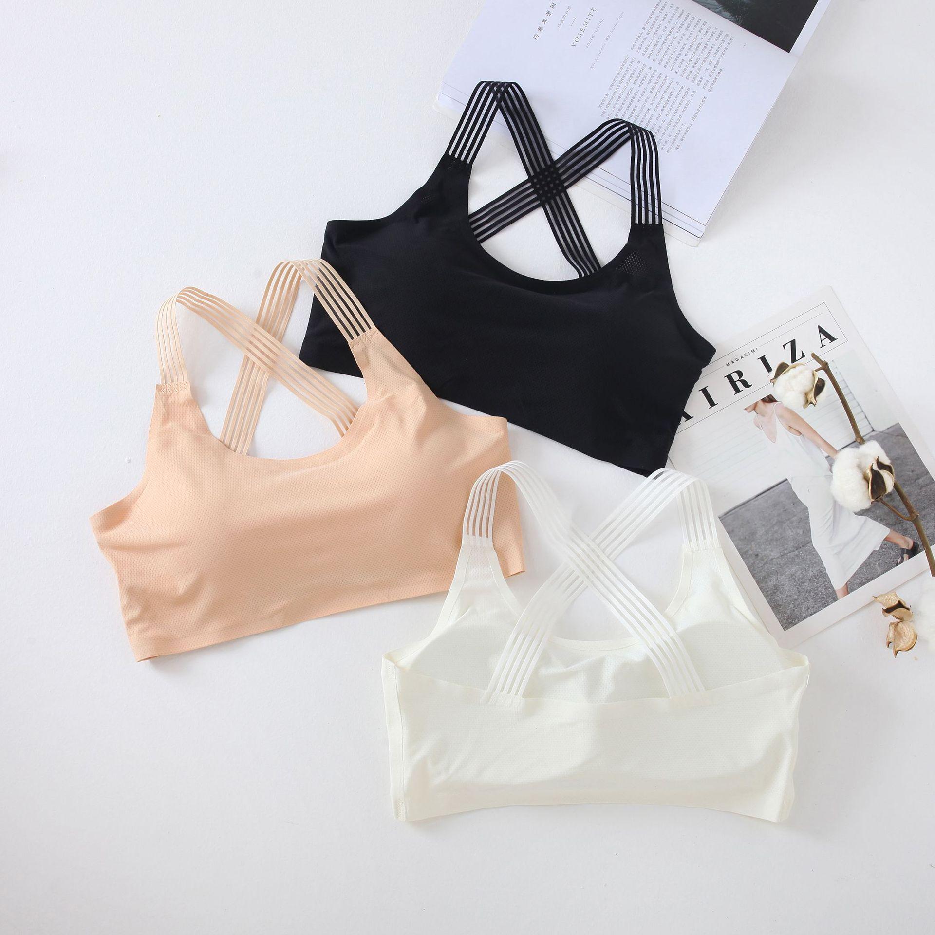 Women Yoga Sport Bra Shockproof Sexy Back Sports Bras Breathable Athletic Fitness Running Gym Vest Tops Sportswear