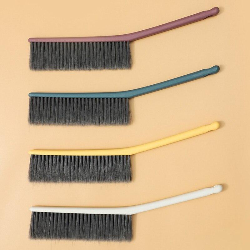 Cepillo de pelo de mango largo colcha sofá alfombra cortina Limpieza de barrido cepillo de cama dormitorio polvo estilo silvestre hogar