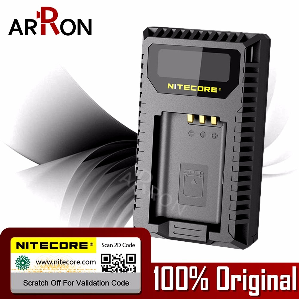 Caliente Nitecore USN2 Digital de doble ranura de cargador de cámara de Sony NP-BX1 baterías compatibles DSC-HX350 DSC-H400
