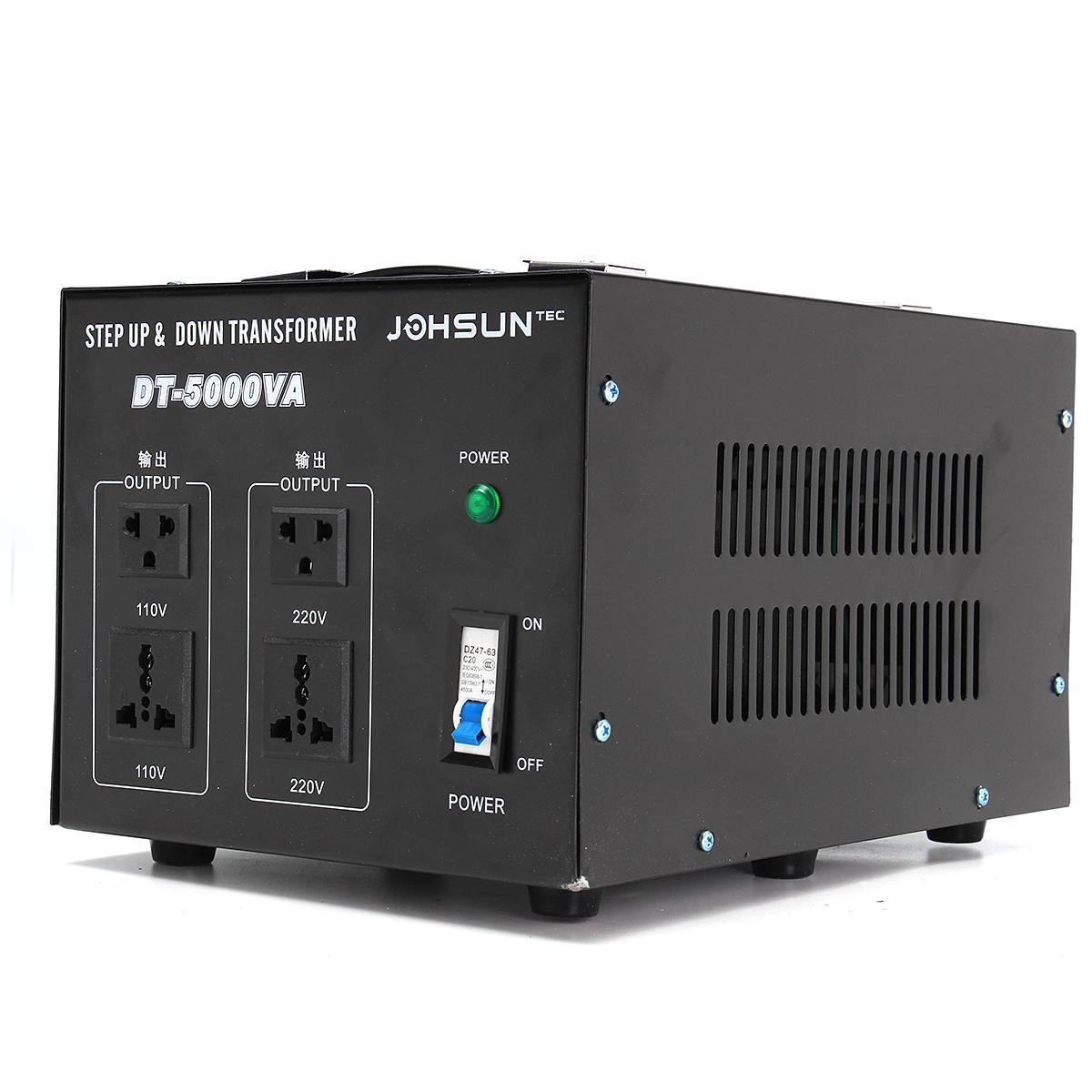 محول جهد كهربائي ، منظم جهد عالي ، 110 فولت إلى 220 فولت ، 500/1000/2000/3000 واط ، 5000 فولت ، محول 220 فولت ، auf 110 فولت